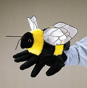 Bee Hand Puppet  |  Folkmanis
