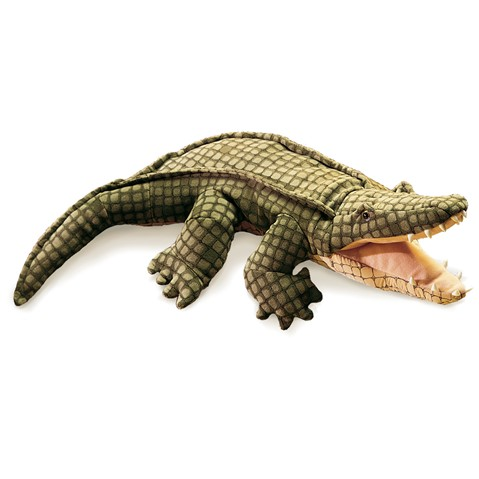 Alligator Hand Puppet  |  Folkmanis