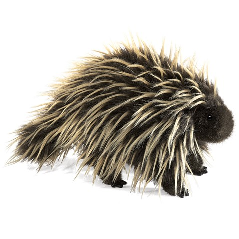 Porcupine Hand Puppet  |  Folkmanis