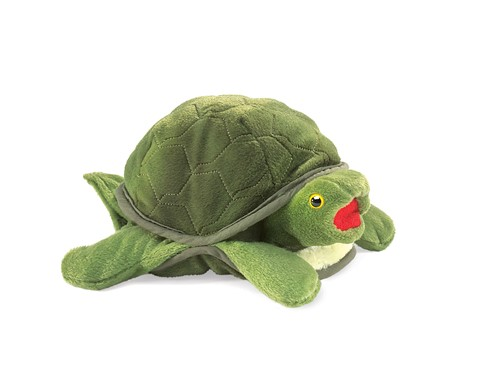 Baby Turtle Hand Puppet  |  Folkmanis