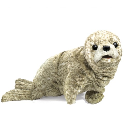 Harbor Seal Hand Puppet  |  Folkmanis