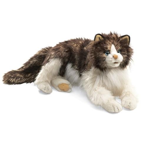 Ragdoll Cat Hand Puppet  |  Folkmanis