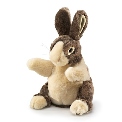 Baby Dutch Rabbit Hand Puppet  |  Folkmanis