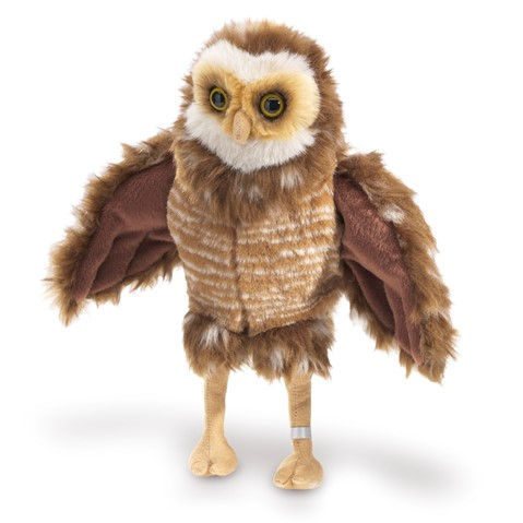 Burrowing Owl Hand Puppet  |  Folkmanis
