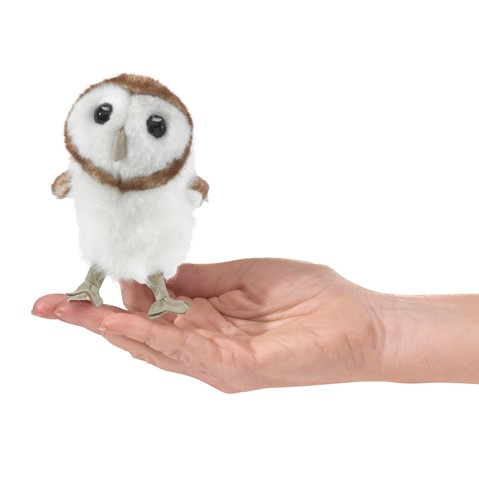 Mini Barn Owl  |  Folkmanis