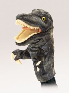 T-Rex Stage puppet  |  Folkmanis