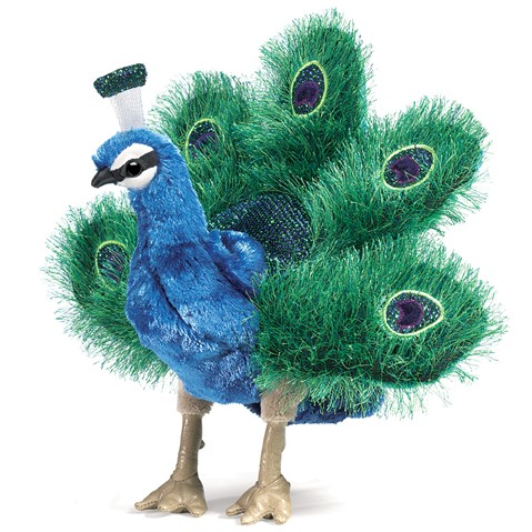 Small Peacock  |  Folkmanis