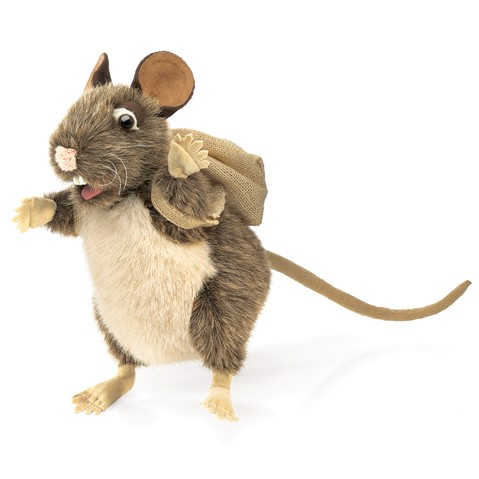 Pack Rat Hand Puppet  |  Folkmanis