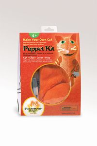Cat Puppet Kit  |  Folkmanis