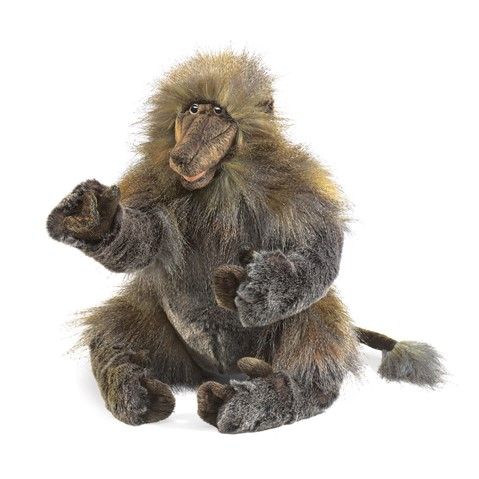 Baboon Hand Puppet  |  Folkmanis