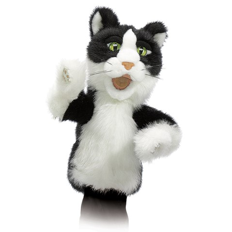 Tomcat Character Puppet  |  Folkmanis