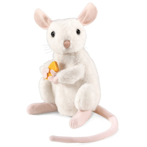 Nibbling Mouse Hand Puppet  |  Folkmanis