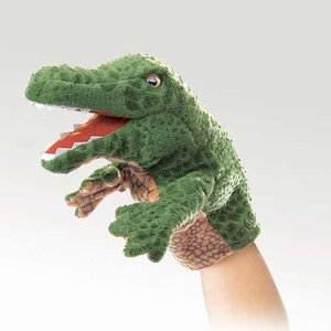Little Alligator Little Puppet  |  Folkmanis
