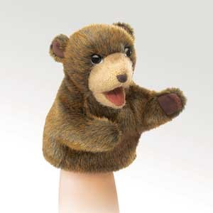Little Brown Bear Puppet  |  Folkmanis