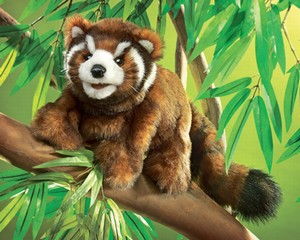 Red Panda Hand Puppet  |  Folkmanis
