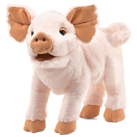 Piglet Hand Puppet  |  Folkmanis