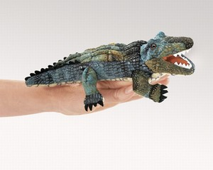Mini Alligator Finger Puppet  |  Folkmanis