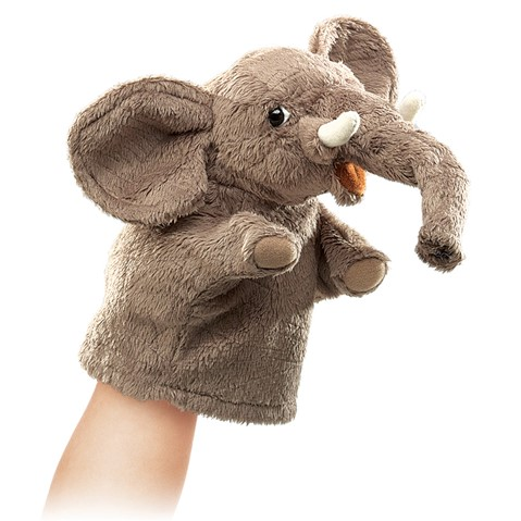 Little Elephant Puppet  |  Folkmanis