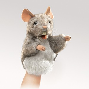 Little Mouse Puppet  |  Folkmanis