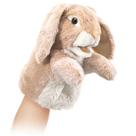 Little Lop Rabbit Puppet  |  Folkmanis