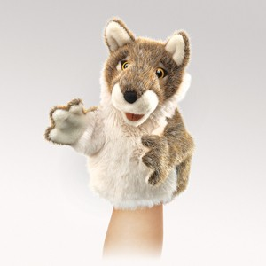 Little Wolf Puppet  |  Folkmanis