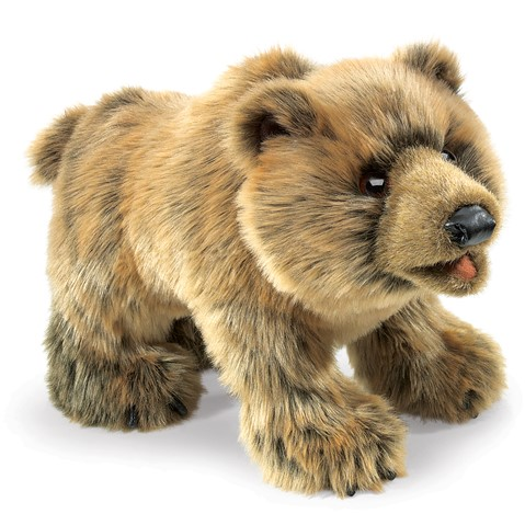 Grizzly Bear Hand Puppet  |  Folkmanis