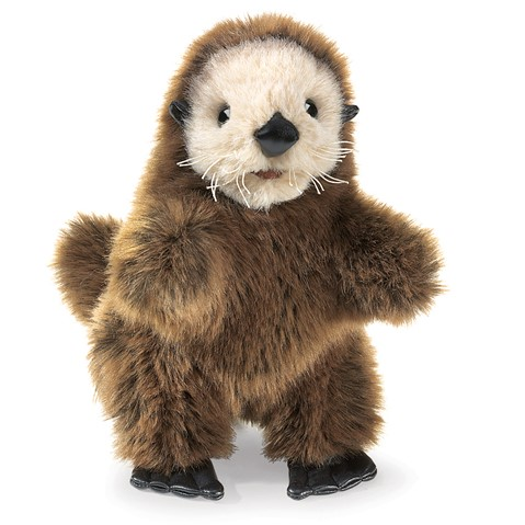 Baby Sea Otter Hand Puppet  |  Folkmanis