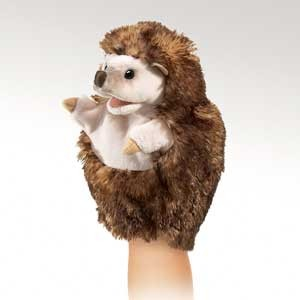 Little Hedgehog Puppet  |  Folkmanis