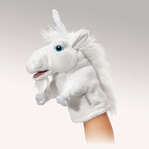 Little Unicorn Puppet  |  Folkmanis