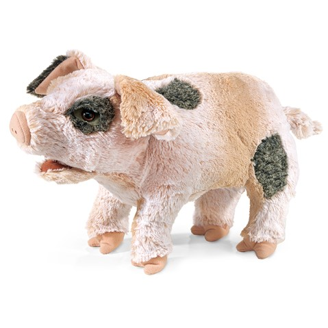 Grunting Pig Hand Puppet  |  Folkmanis