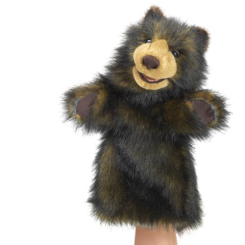 Bear Stage puppet  |  Folkmanis
