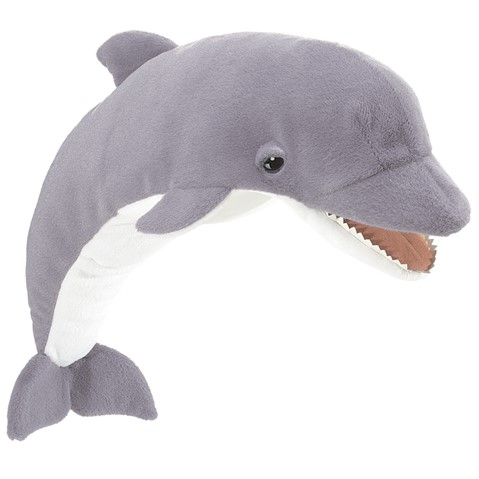 Dolphin Hand Puppet  |  Folkmanis
