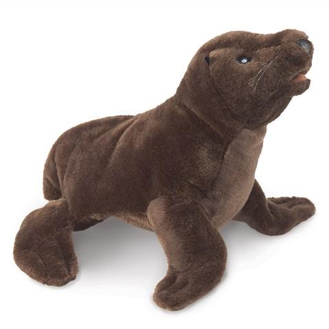 Sea Lion Pup Hand Puppet  |  Folkmanis