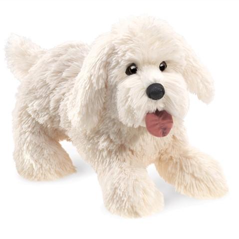 Panting Dog Hand Puppet  |  Folkmanis