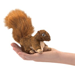 Mini Squirrel, Red