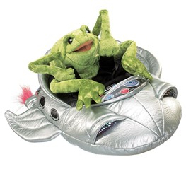 Frog in Spaceship
