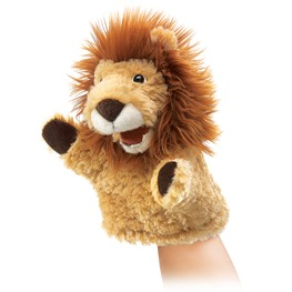 Folkmanis 2930 Little Lion Puppet