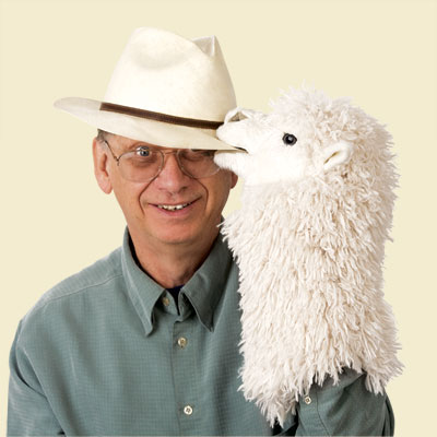 Man with Alpaca Stage