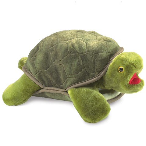 Turtle Hand Puppet  |  Folkmanis