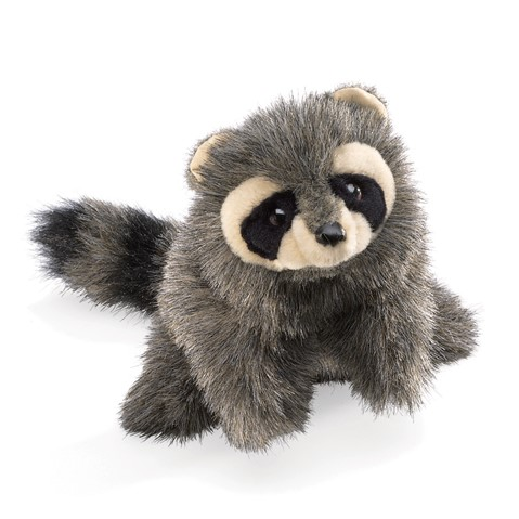 Baby Raccoon Hand Puppet  |  Folkmanis