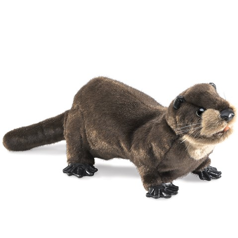 River Otter Hand Puppet Folkmanis