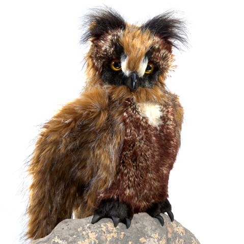 Great Horned Owl Hand Puppet  |  Folkmanis