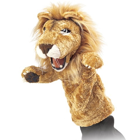 Lion Stage puppet  |  Folkmanis