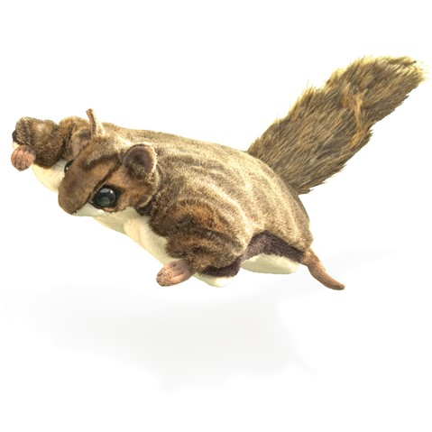 Flying Squirrel Hand Puppet  |  Folkmanis