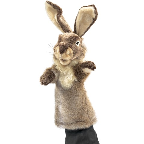 Rabbit Stage puppet  |  Folkmanis