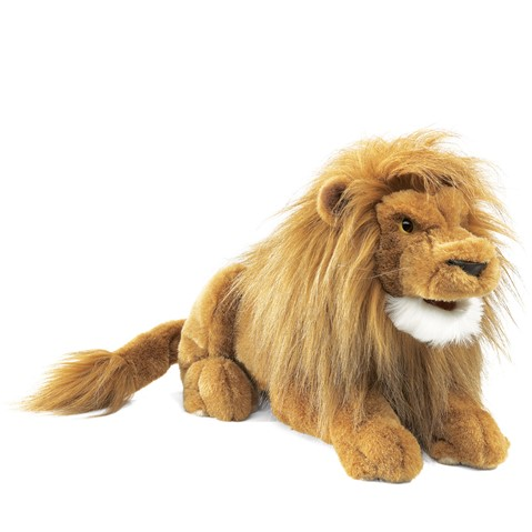 Lion Hand Puppet  |  Folkmanis