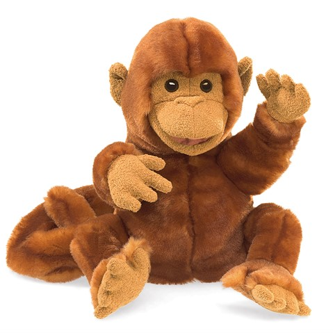 Classic Monkey Hand Puppet  |  Folkmanis