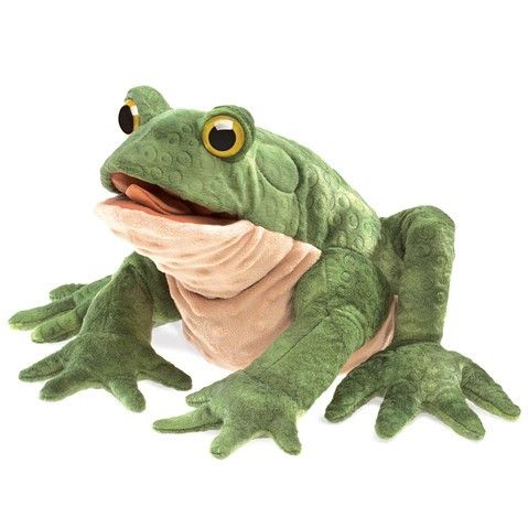 Toad Hand Puppet  |  Folkmanis