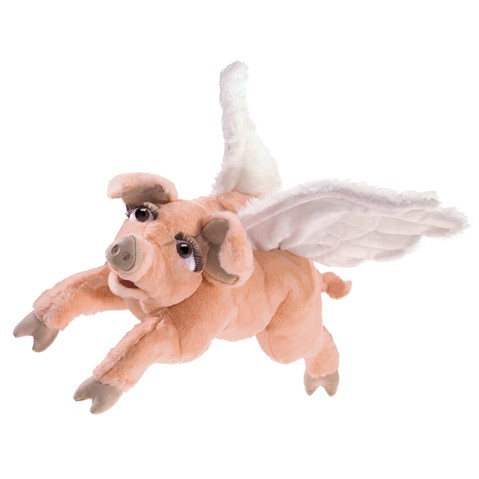 Flying Pig Hand Puppet  |  Folkmanis
