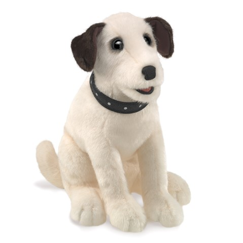 Sitting Terrier Hand Puppet  |  Folkmanis